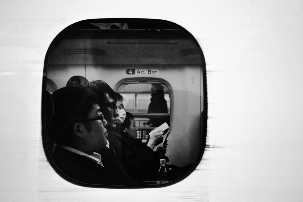 shinkansen train japan passenger