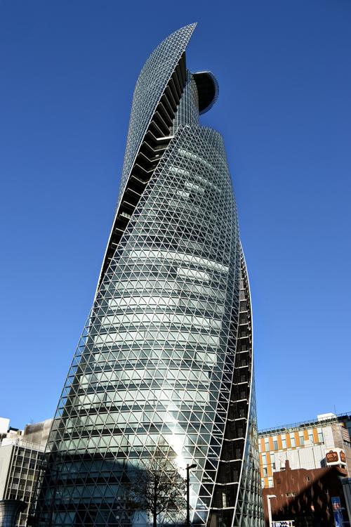 nagoya aichi japan building mode-gakuen tower
