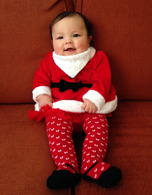 mia christmas baby