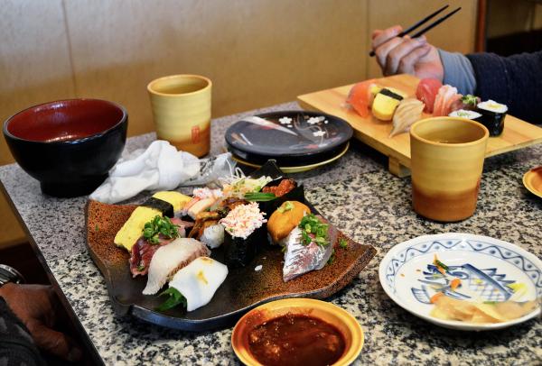 Kaiten zushi, Okayama 3