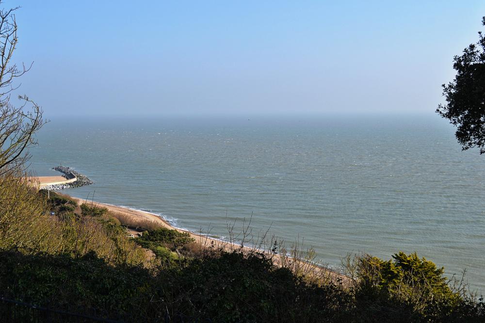 folkestone kent england leas sea coast cliff