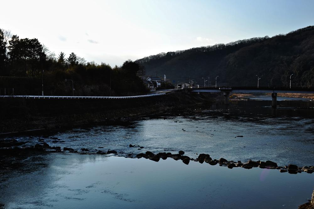 yunogo onsen river japan okayama