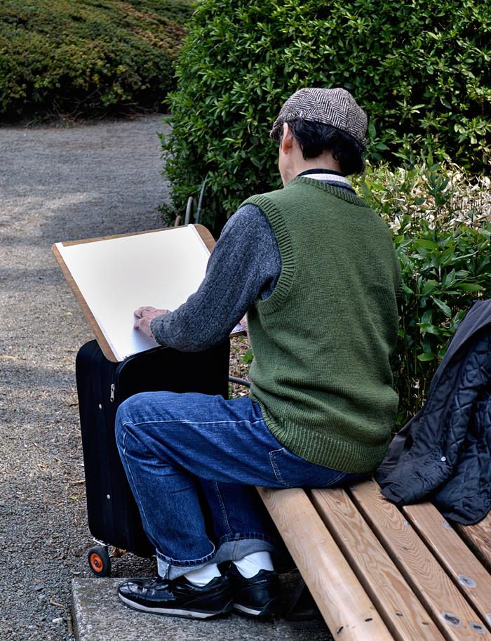 park tokyo shinjuku shinjuku-park japan artist