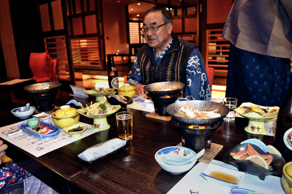Ryokan Dinner, Yunogo