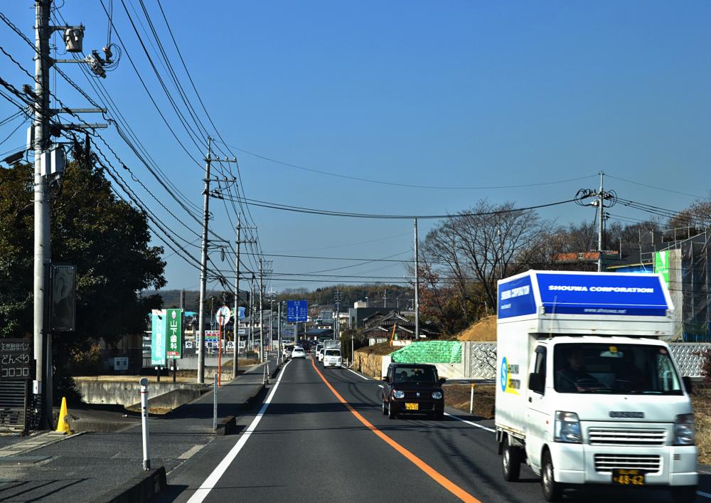 okayama city japan road