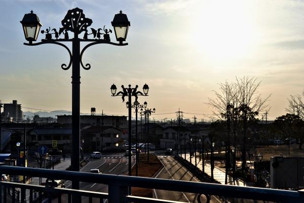 kurashiki okayama japan sunset