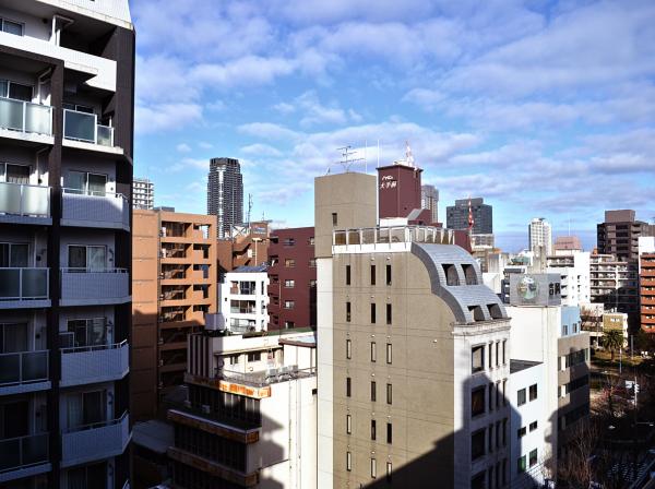 city osaka japan building
