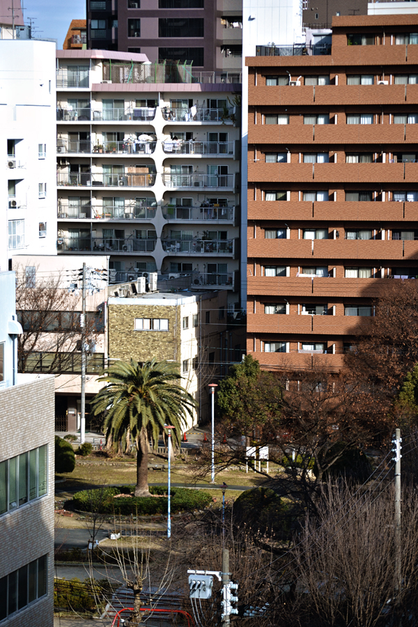 city osaka japan building park