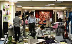 japan osaka umeda shop kimono hankyu mall