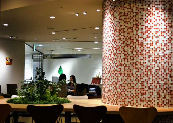 cafe umeda osaka japan