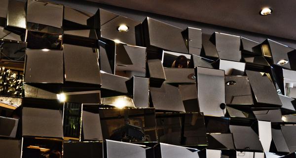 cafe umeda osaka japan mirror