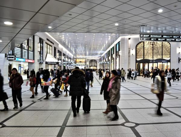 Downtown Umeda, Osaka 5