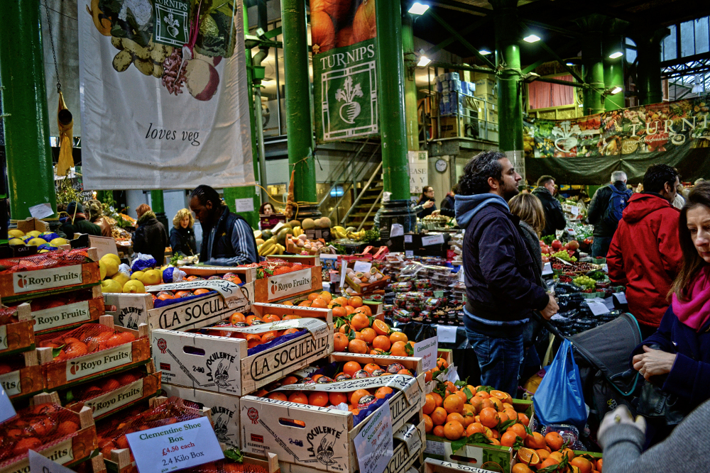 london england borough-market market vegetable
