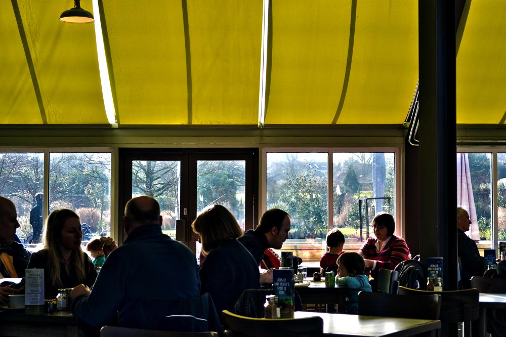 wisley garden england restaurant diner