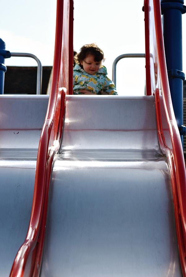 worcester-park london england playground slide