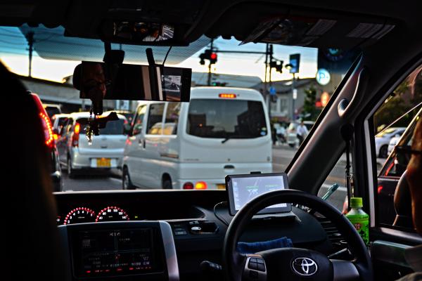 Taxi Ride, Okayama