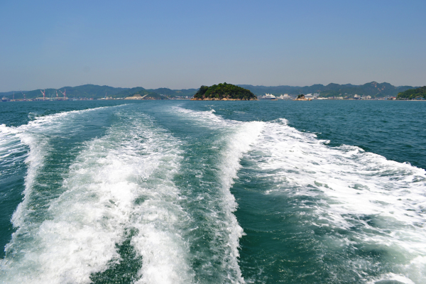 okayama japan seto-naikai island sea