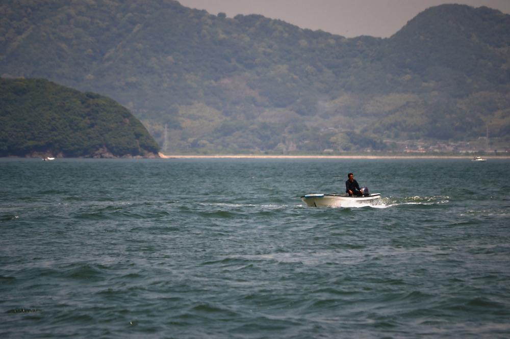 okayama japan seto-naikai island sea boat