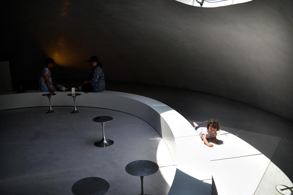 japan kagawa teshima teshima-art-museum cafe