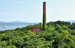 japan kagawa seto-naikai inujima tower  seirensho