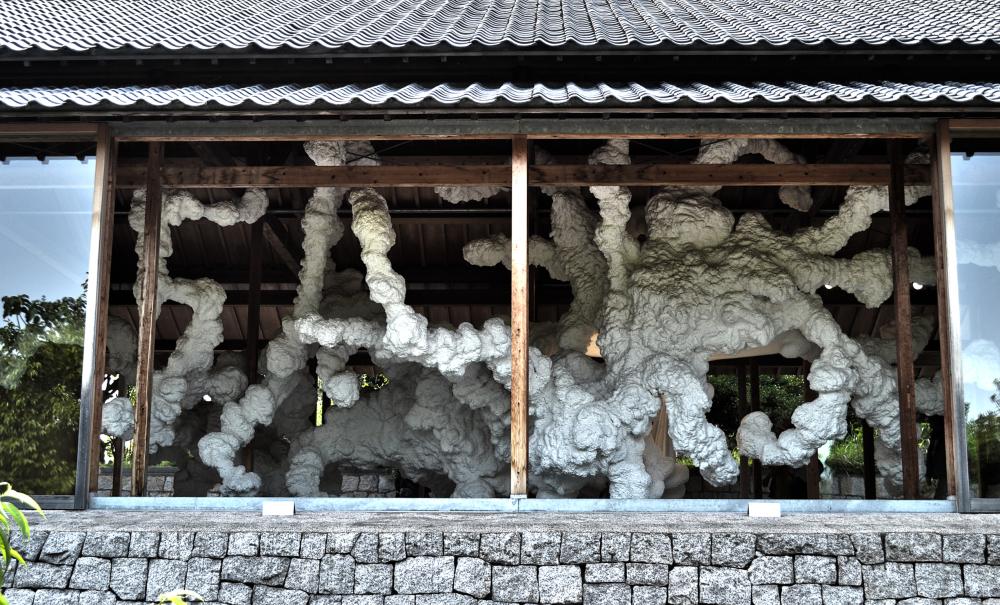 japan kagawa inujima sculpture Kohei-Nawa