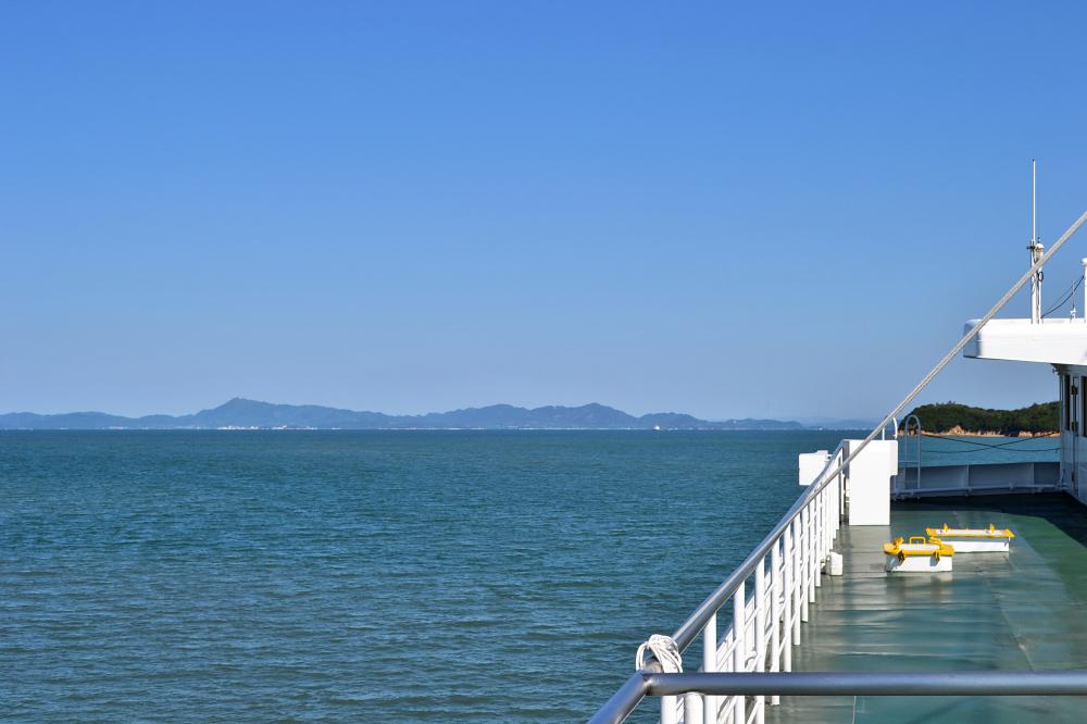 japan kagawa ferry seto-naikai sea
