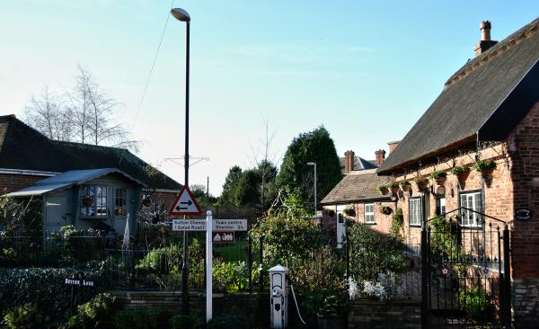 market-bosworth england house garden