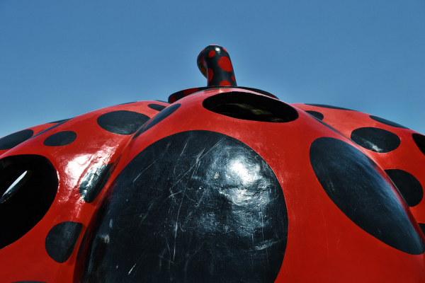 Red Pumpkin, Naoshima 2