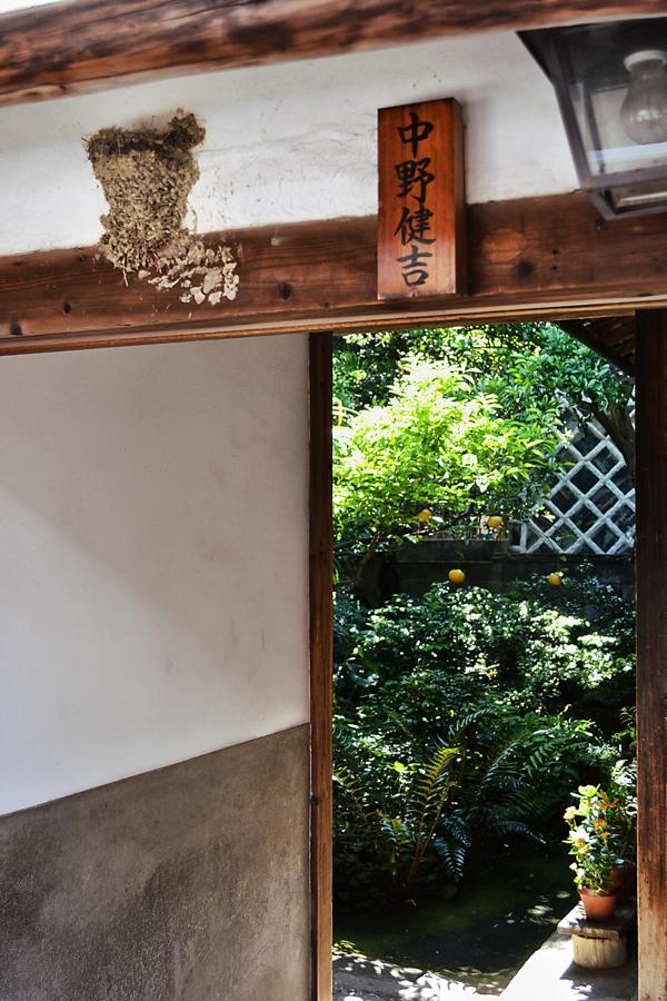 japan kagawa naoshima house garden