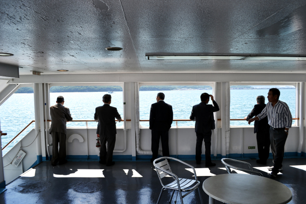 A Ride on the Naoshima Ferry