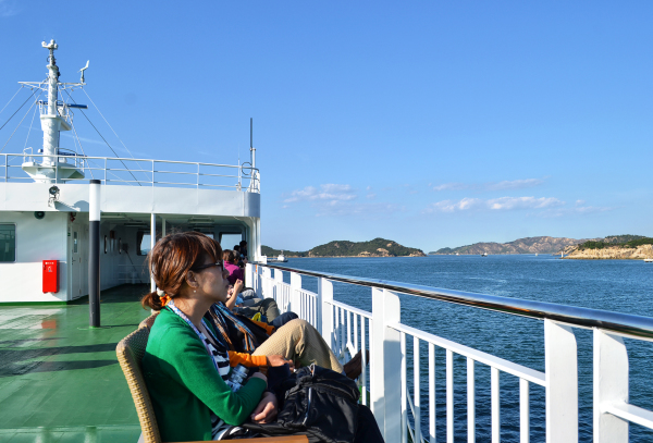 A Ride on the Naoshima Ferry 3