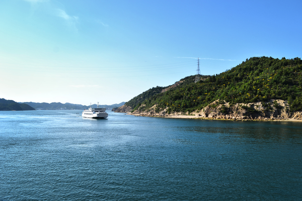 A Ride on the Naoshima Ferry 4