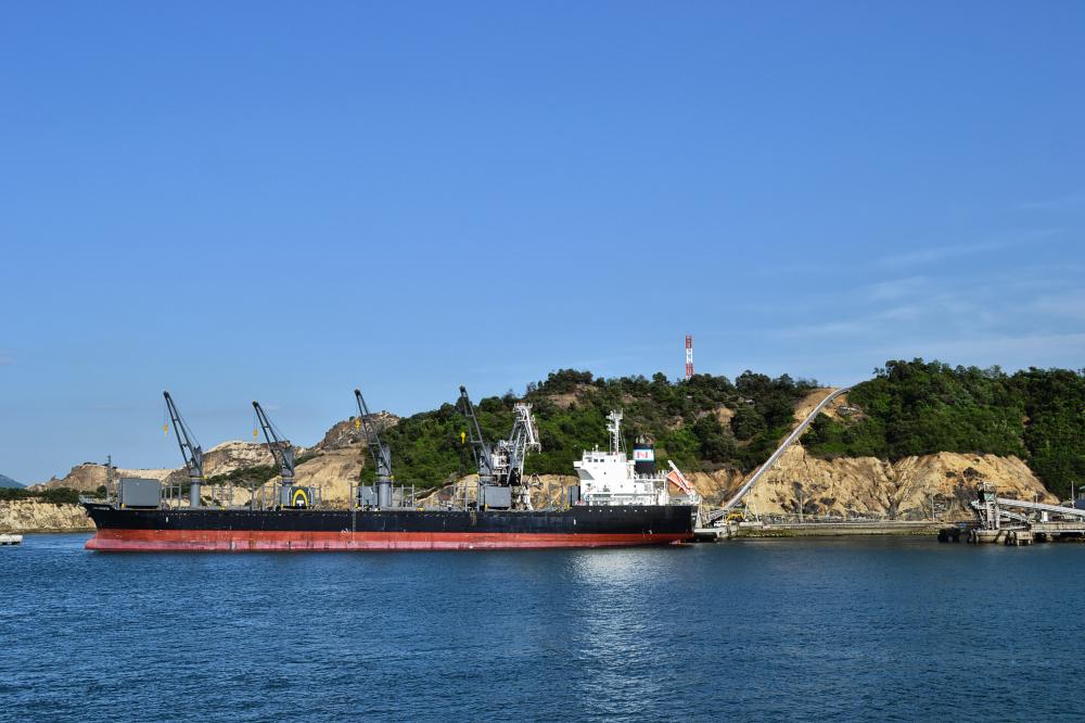 japan kagawa naoshima seto-naikai sea ship