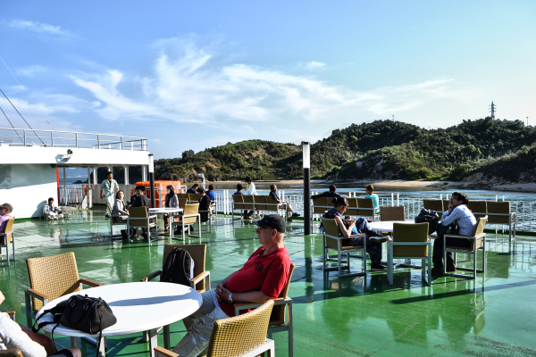 A Ride on the Naoshima Ferry 7