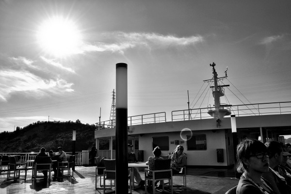 A Ride on the Naoshima Ferry 8