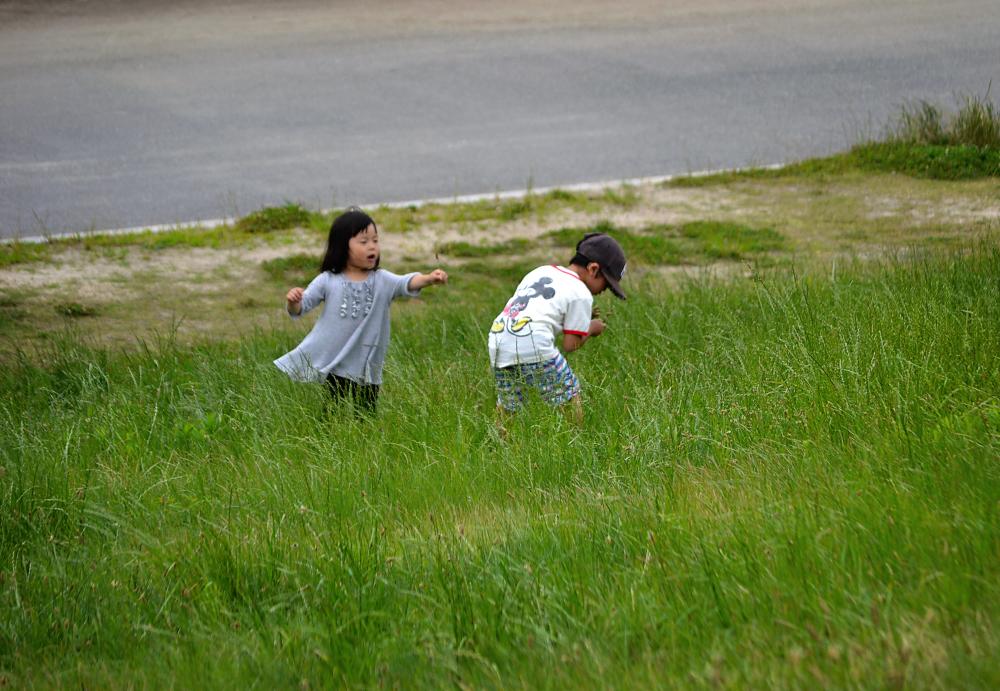 osaka umeda japan yodogawa children