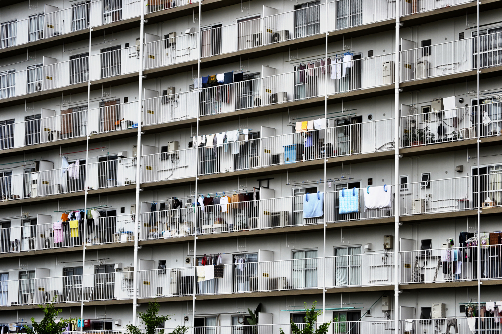 osaka umeda japan yodogawa apartment building