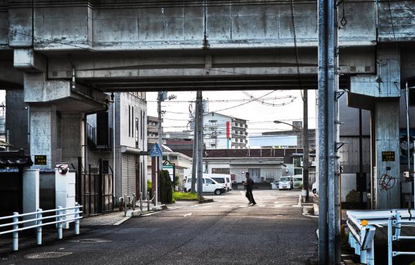 okayama omoto japan street bridge jogging