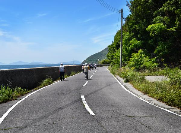 shikoku japan seto-naikai honjima road