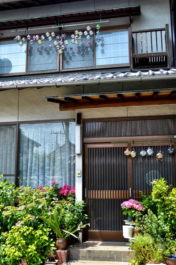 shimotsui okayama kurashiki japan house wind-chime