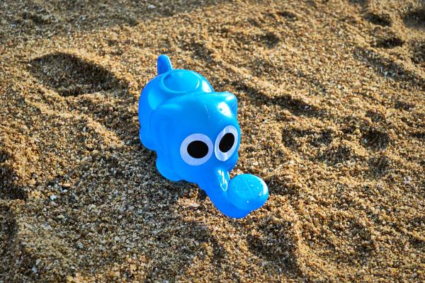 okayama kurashiki japan beach toy elephant