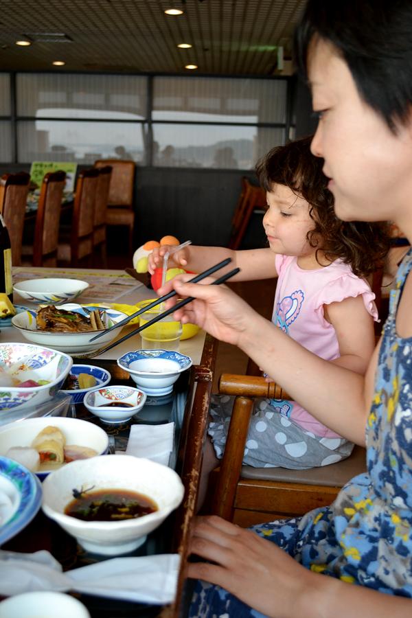 okayama kurashiki japan ryokan dinner mia mayumi