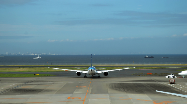 Leaving Haneda