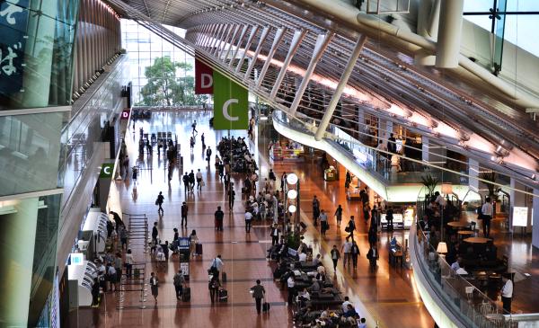 tokyo japan haneda airport