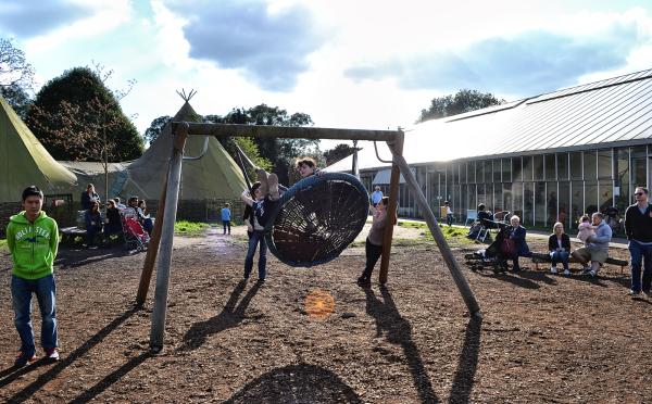 kew-gardens london england children playground
