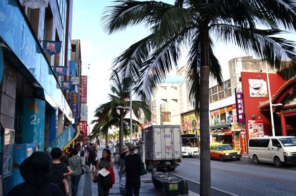 okinawa japan naha street