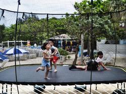 okinawa japan mia trampoline beach