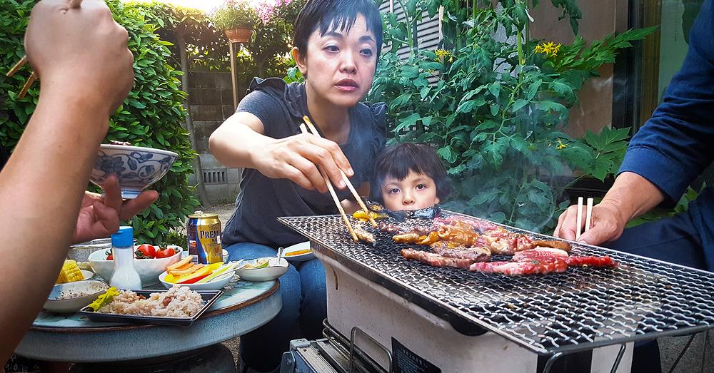 okayama japan garden kobayashi mia mayumi barbecue