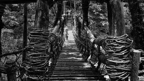 iya-no-kazurabashi tokushima shikoku japan bridge