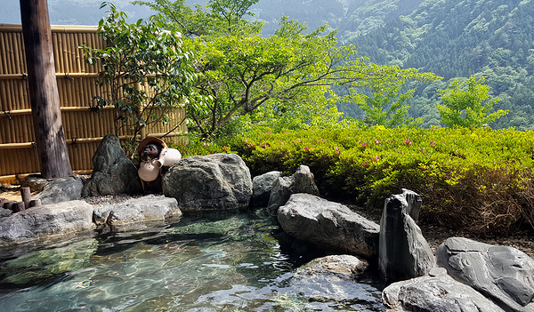 Onsen, Kazurabashi Hotel 2